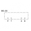 BS-03-40,DAIKIN叠加型盲孔块