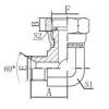 2B9-04G,2B9-08G,内螺纹表接头