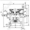 TJ-POI-0.6,TJ-POI-1.5,TJ-POI-2.5,TJ-POI-5,TJ-POI-10,TJ-POI-20,TJ-POI,单法兰电磁离合、刹车器组