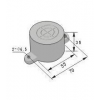 饼型接近传感器 HG-A55-ZNK,HG-A55-ZNB,HG-A55-ZNKB,HG-A55-ZPK,HG-A55-ZPB,HG-A55-ZPKB,