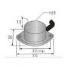 饼型接近传感器 HG-A25-ZNK,HG-A25-ZNB,HG-A25-ZNKB,HG-A25-ZPK,HG-A25-ZPB,HG-A25-ZPKB,
