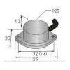 饼型接近传感器 HG-A25-ZK,HG-A25-ZB,