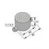 饼型接近传感器 HG-A48-JK,HG-A48-JB,