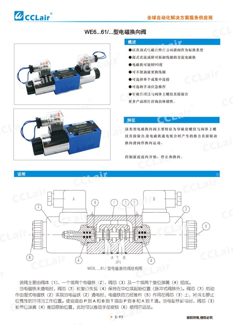 WE6型电磁换向阀-1