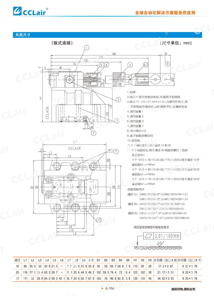 DZ 50型先导式顺序阀-5