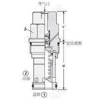 RPGD-ABN,RPID-BBN,RPKD-BBN,导压操作平衡活塞型气控泄压阀