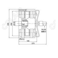 DBKF-250.2.0,DBKF-250.4.0,DBKF-250.6.0,空压碟式离合器
