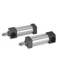 DDAK40*50,DDAK40*75,DDAK40*100,DDAK40*150,DDAK40*200,国际标准拉杆中型尾端保持气缸