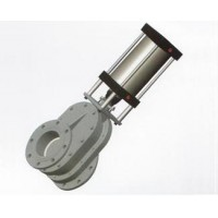 CLF-80,CLF-100,CLF-125,CLF-150,双闸气锁耐磨陶瓷出料阀(气动双闸板阀)