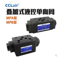 叠加液控阀MPW-01-2-40,MPW-01-4-40,MPW-03-2-20,MPW-03-4-20,MPW-04-2-10Y,MPW-04-4-10Y,MPW-06-2-30,MPW-06-4-30